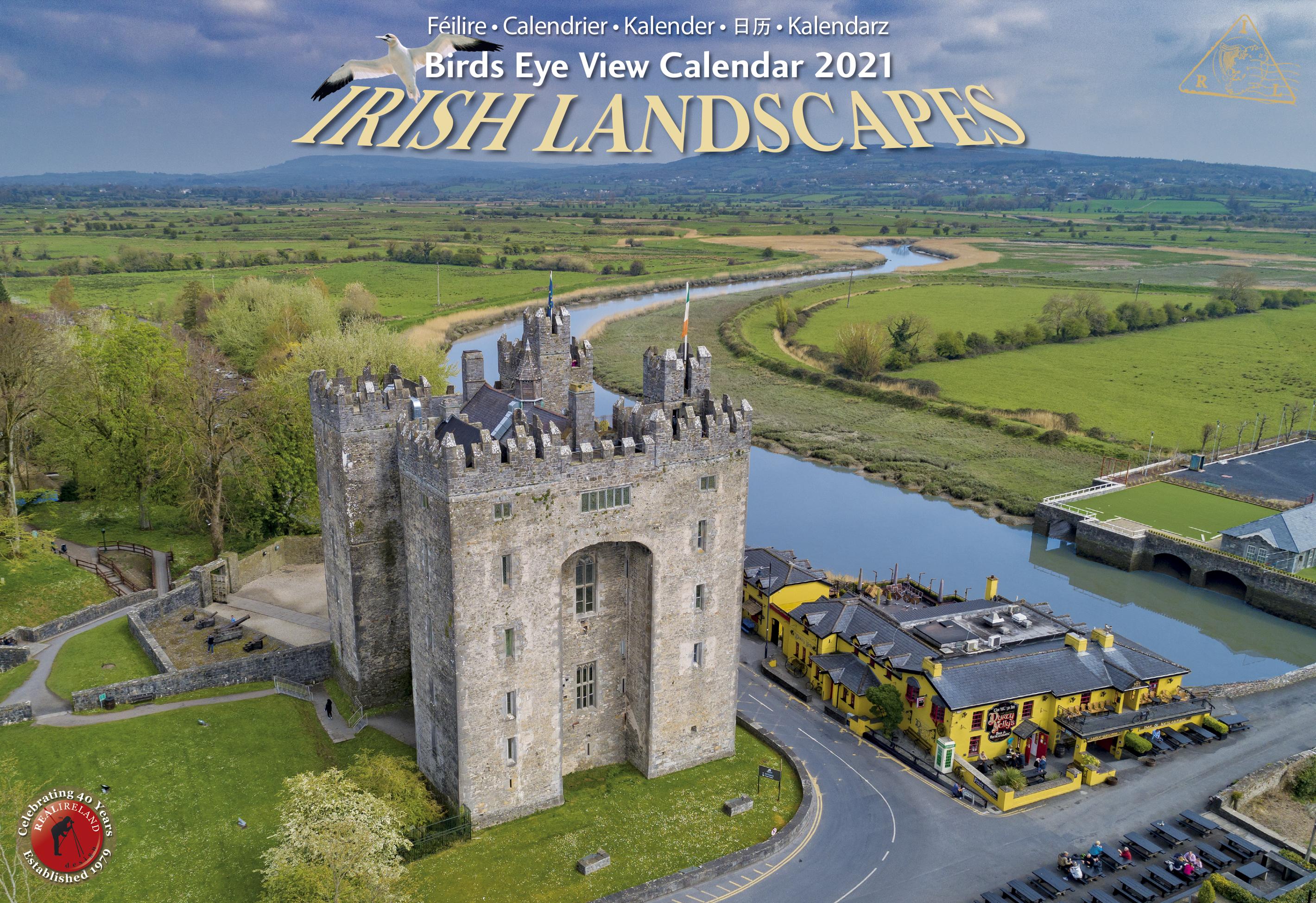 Irish Landscapes Calendar 2021   Real Ireland A4   Bookstation